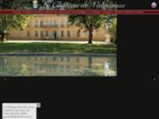 screenshot http://www.chateau-de-valmousse.com/ location de charme aix en provence