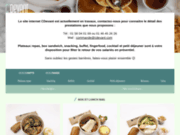 screenshot http://www.chaud-devant.com/ livraison repas