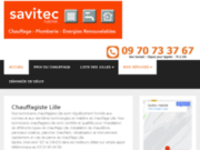 screenshot http://www.chauffage-lille-nord.fr aquaservices - chauffagiste lille