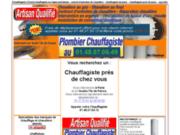 screenshot http://www.chauffagiste-depannage.com contrat d'entretien chaudière