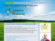 screenshot http://www.chauffagiste-namur.be chauffagiste sanitaire et entretien près de hannut