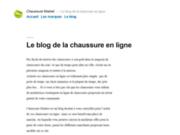 Comparateur de prix de chaussures - Chaussure Market