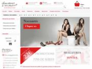screenshot http://www.chaussuresavospieds.fr chaussures à vos pieds