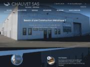 screenshot http://www.chauvetsas.com métallerie
