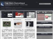 screenshot http://www.chdomotique.com votre intégrateur domotique