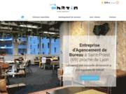 Chemin Aménagement - entreprise d'agencement de bureaux près de Lyon