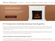 Cheminée Passion : boutique de cheminée électrique