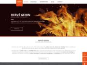 screenshot http://www.cheminees-gehin.fr/ cheminées gehin