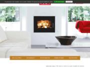 screenshot http://cheminees-tastet.com cheminées dax