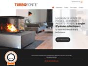 Turbo Fonte - vente de cheminées et poêles près de Bayonne et Biarritz