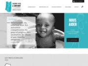 screenshot http://www.cheminverslenfant.fr/ chemin vers l'enfant