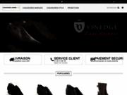 screenshot http://www.chemises-chaussures-hommes.com/ vente de chemise homme et chaussures hommes