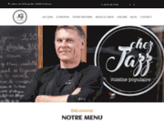 screenshot https://www.chez-jazz.fr/ Chez Jazz - Restaurant avec terrasse à saint cyprien Toulouse