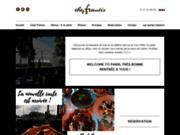 screenshot http://www.chezfrancis-restaurant.com restaurant terrasse paris