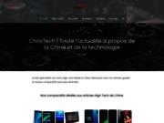 screenshot http://www.chinitech.com l'actualité geek et high-tech venue de chine