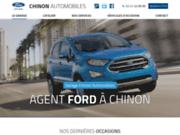 screenshot http://www.chinonautomobiles-37.com véhicules d'occasion à Chinon 37