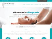 screenshot http://www.chiro-rousset.fr cabinet chiropratique - votre chiropraticienne