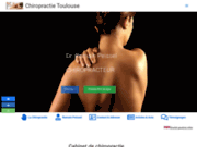 screenshot https://www.chiropratique-france.net Dr. Romain PEISSEL Chiropracteur à Toulouse