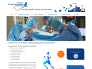 screenshot http://www.chirurgie-orthopedique-beaujolais.com/ Centre de Chirurgie Orthopédique du Beaujolais