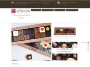 screenshot http://www.chocolatsdeneuvillenice.fr Chocolaterie de Neuville Nice