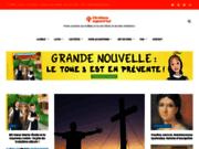 screenshot http://www.chretiensaujourdhui.com/ Chrétiens aujourd'hui