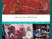 Chris Le Guen Artiste Plasticiene Peintre et sculptrice - ATELIER 450