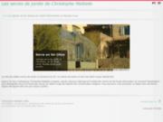 screenshot http://www.christophemaltaite.fr serre de jardin à l'ancienne : ferronnerie maltaite