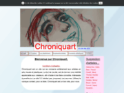 screenshot https://www.chroniquart.net chroniquart