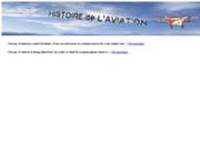 screenshot http://www.chrono-aviation.com Chronologie de l'histoire de l'aviation