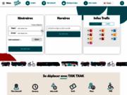 screenshot http://www.chronoplus.eu chronoplus, réseau de transports agglomération bayonne 64