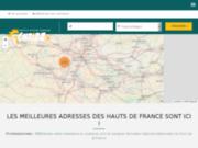 screenshot http://www.chtizz.fr Sélection des professionnels de la région Nord Pas-de-Calais