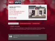 screenshot http://www.cigarette-electronique-chatellerault.com Neovapo s'installe à Châtellerault