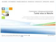 screenshot http://www.cigtunnelmanche.fr commission intergouvernementale au tunnel sous la manche