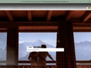 screenshot http://www.cimalpes.com/ cimalpes : hébergements dans les alpes