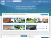screenshot http://www.cimm-immobilier-albertville.fr annonces immobiliere albertville et ses alentours
