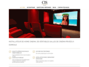 screenshot https://www.cine-install.fr Ciné Install, Installateur home cinema