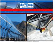 screenshot http://www.cipcsp.com conseil et installation de panneau solaire