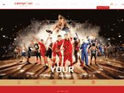 screenshot http://www.cippsport.com coaching sportif, préparation physique, nutrition