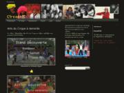 screenshot http://www.circocric.org/lacaravanealeon/ festival la caravane à léon
