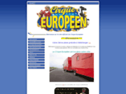 screenshot http://www.cirque-europeen.com le site officiel du cirque europeen