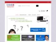 screenshot http://cisveo.com systèmes de vidéosurveillance