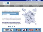 screenshot http://www.citpc.fr Centrale d'Inscription Test Psychotechnique