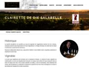 screenshot http://www.clairette-de-die-salabelle.fr Clairette de die