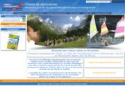 screenshot http://www.classededecouverte.org/ classes de découvertes - ligue de l'enseignement