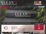 screenshot http://www.cleans.fr nettoyage et traitement de toutes surfaces