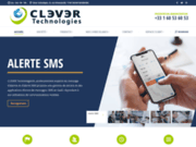 screenshot http://www.clever.fr clever technologies, solution de communication sms