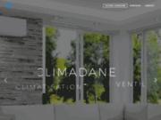 screenshot http://www.climadane.fr climadane : chauffage climatisation, climatisation, pompe à chaleur, ventilation, chauffage,