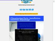 screenshot http://www.climatisation-paris--ile-de-france.fr Climatisation Paris IDF