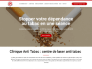 screenshot http://clinique-anti-tabac.fr Traitement anti tabac avec laser