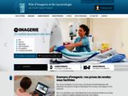 screenshot http://clinique-psv.fr/ clinique de radiologie et oncologie à Douai